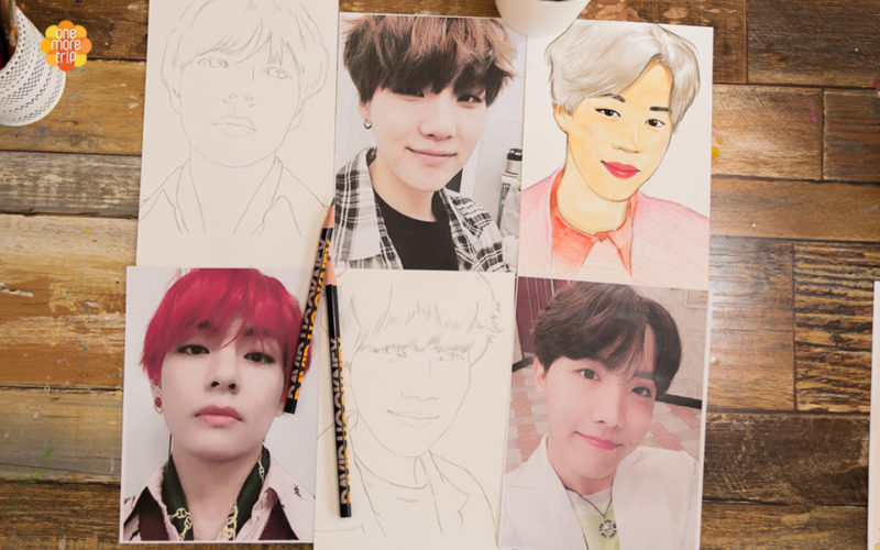 BTS Drawing oneday class