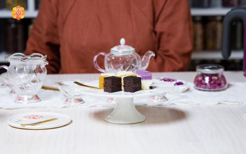 Flower tea experience refreshment