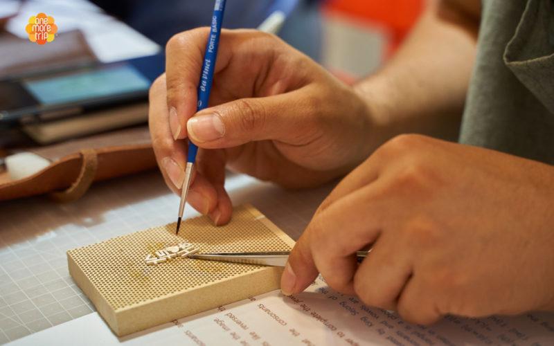 Hangeul Jewelry Designing