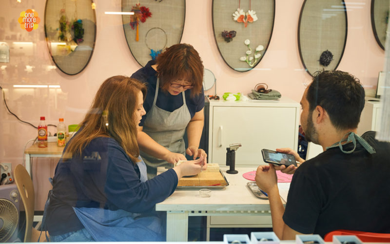Hangeul jewelry class