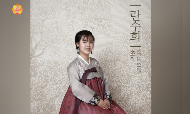 hanbok with photo snap