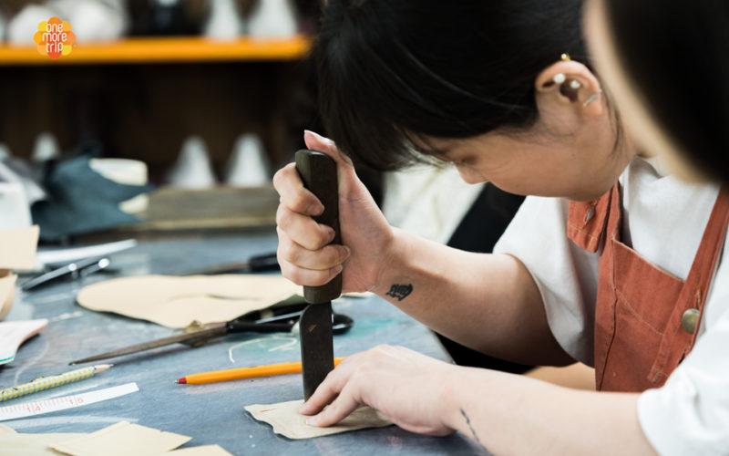 shoe making handmade