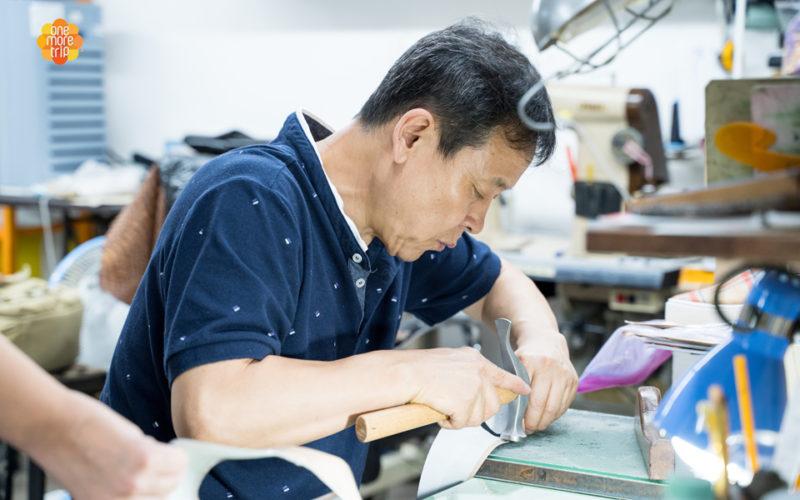 shoe making master